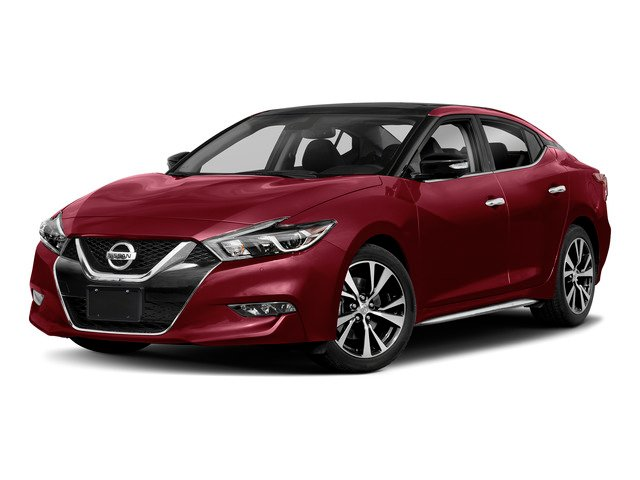 Carnelian Red 2018 Nissan Maxima Pictures Maxima Platinum 3.5L photos front view