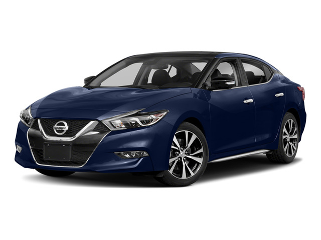 Deep Blue Pearl 2018 Nissan Maxima Pictures Maxima Platinum 3.5L photos front view