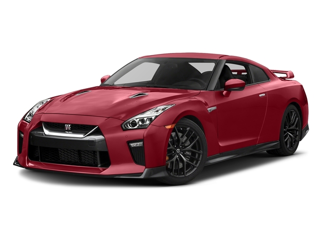 Solid Red 2018 Nissan GT-R Pictures GT-R Track Edition AWD photos front view