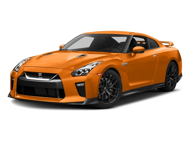 Blaze Metallic 2018 Nissan GT-R Pictures GT-R Track Edition AWD photos front view