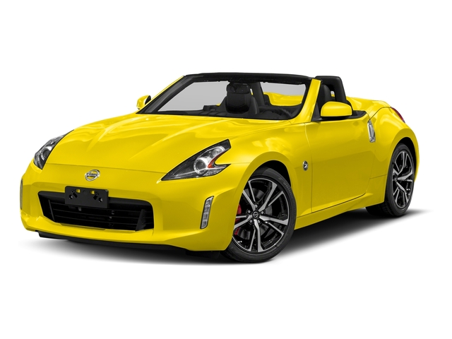 Chicane Yellow 2018 Nissan 370Z Roadster Pictures 370Z Roadster Touring Auto photos front view