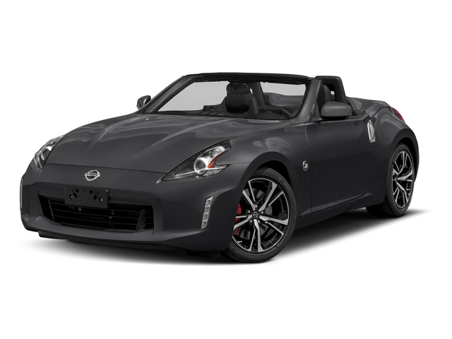 Magnetic Black 2018 Nissan 370Z Roadster Pictures 370Z Roadster Touring Auto photos front view