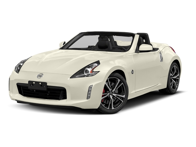 Pearl White 2018 Nissan 370Z Roadster Pictures 370Z Roadster Touring Auto photos front view