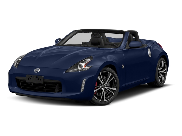 Deep Blue Pearl 2018 Nissan 370Z Roadster Pictures 370Z Roadster Touring Auto photos front view