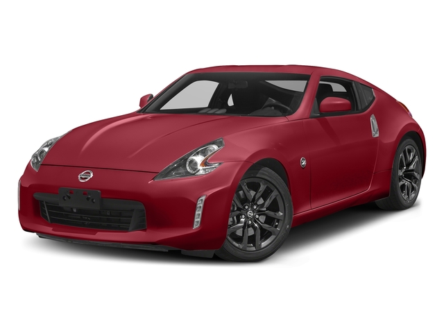 Solid Red 2018 Nissan 370Z Coupe Pictures 370Z Coupe Sport Manual photos front view