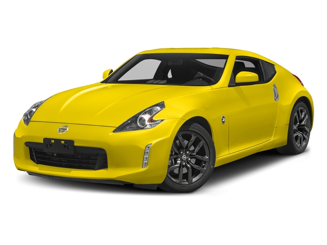 Chicane Yellow 2018 Nissan 370Z Coupe Pictures 370Z Coupe Sport Manual photos front view