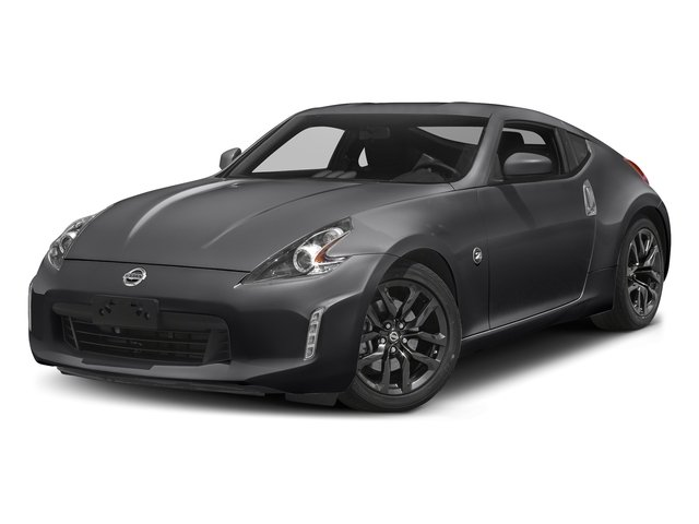 Magnetic Black 2018 Nissan 370Z Coupe Pictures 370Z Coupe Sport Manual photos front view