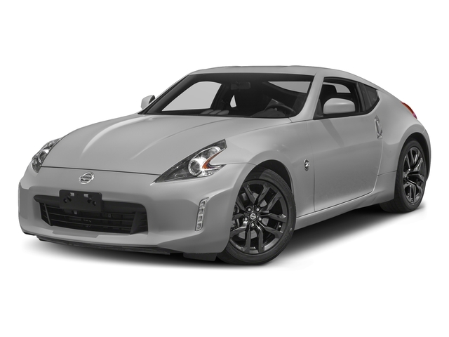 Brilliant Silver 2018 Nissan 370Z Coupe Pictures 370Z Coupe Sport Manual photos front view