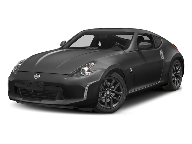 Gun Metallic 2018 Nissan 370Z Coupe Pictures 370Z Coupe Sport Manual photos front view