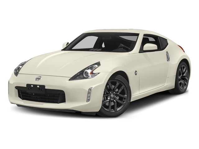 Pearl White 2018 Nissan 370Z Coupe Pictures 370Z Coupe Sport Manual photos front view