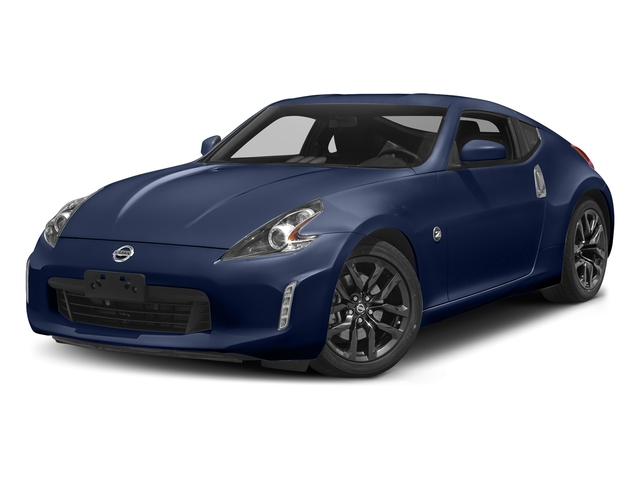 Deep Blue Pearl 2018 Nissan 370Z Coupe Pictures 370Z Coupe Sport Manual photos front view