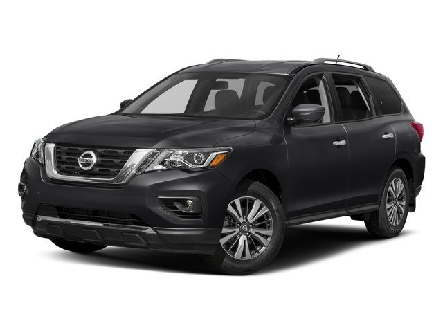 Magnetic Black 2018 Nissan Pathfinder Pictures Pathfinder FWD SV photos front view