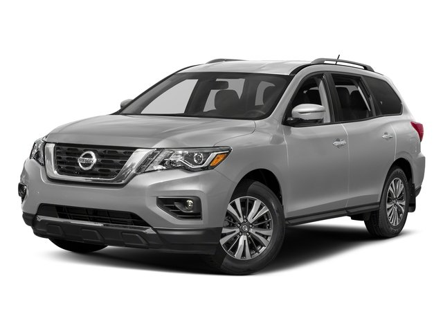 Brilliant Silver 2018 Nissan Pathfinder Pictures Pathfinder FWD SV photos front view
