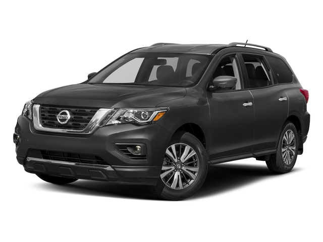 Gun Metallic 2018 Nissan Pathfinder Pictures Pathfinder FWD SV photos front view