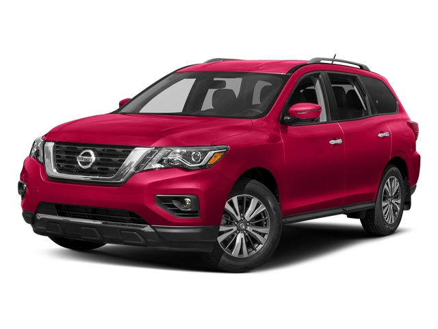 Scarlet Ember 2018 Nissan Pathfinder Pictures Pathfinder 4x4 SL photos front view