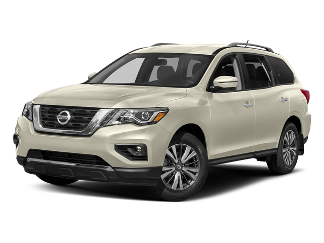 Pearl White 2018 Nissan Pathfinder Pictures Pathfinder 4x4 SL photos front view