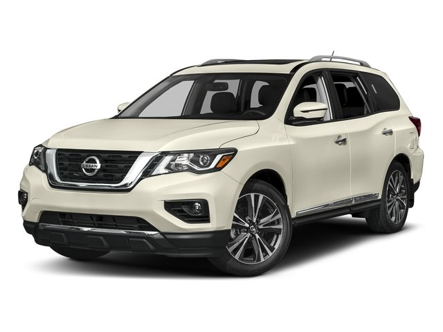 Pearl White 2018 Nissan Pathfinder Pictures Pathfinder FWD Platinum photos front view