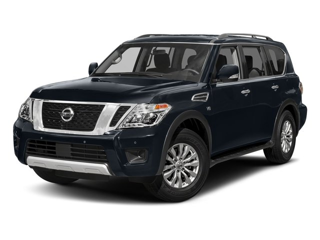 Hermosa Blue 2018 Nissan Armada Pictures Armada 4x4 SV photos front view