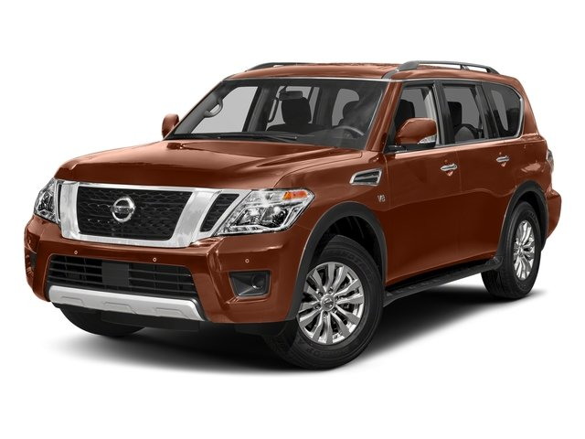 Forged Copper 2018 Nissan Armada Pictures Armada 4x4 SV photos front view