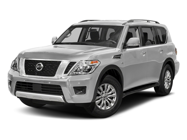 Brilliant Silver 2018 Nissan Armada Pictures Armada 4x4 SV photos front view