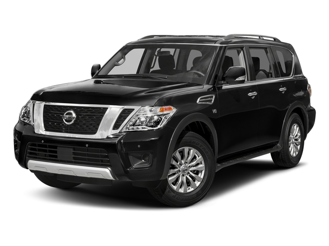 Super Black 2018 Nissan Armada Pictures Armada 4x4 SV photos front view