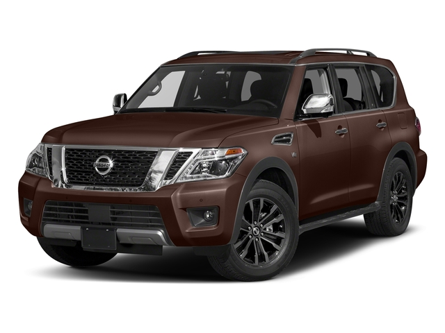 Mocha Almond 2018 Nissan Armada Pictures Armada 4x2 Platinum photos front view