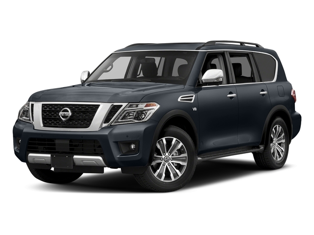 Hermosa Blue 2018 Nissan Armada Pictures Armada 4x2 SL photos front view