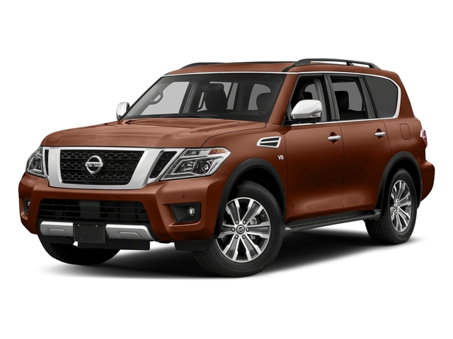 Forged Copper 2018 Nissan Armada Pictures Armada 4x2 SL photos front view