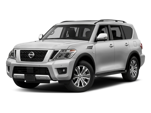 Brilliant Silver 2018 Nissan Armada Pictures Armada 4x2 SL photos front view
