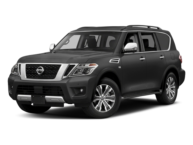 Gun Metallic 2018 Nissan Armada Pictures Armada 4x2 SL photos front view