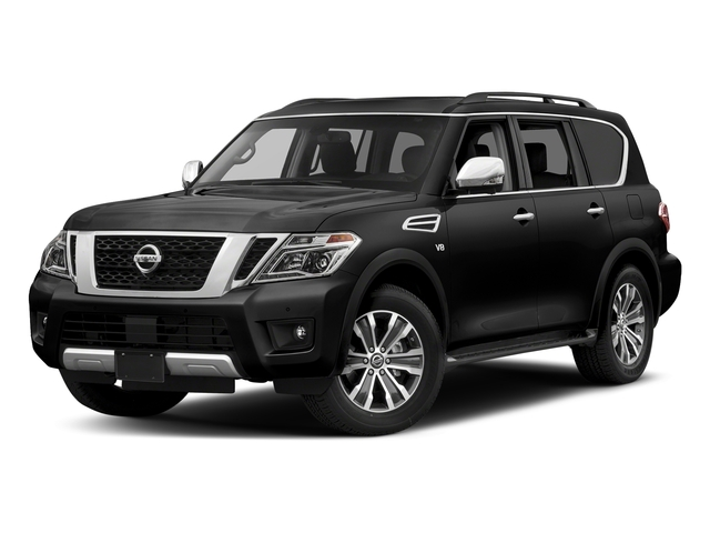 Super Black 2018 Nissan Armada Pictures Armada 4x2 SL photos front view