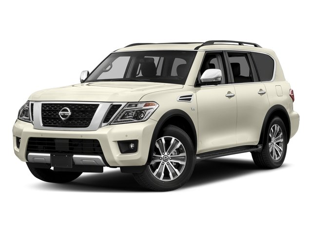 Pearl White 2018 Nissan Armada Pictures Armada 4x2 SL photos front view
