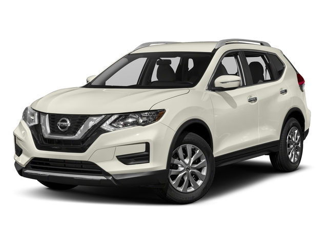 Glacier White 2018 Nissan Rogue Pictures Rogue FWD S photos front view