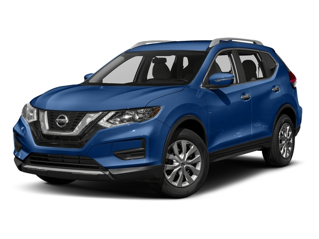 Caspian Blue 2018 Nissan Rogue Pictures Rogue FWD S photos front view