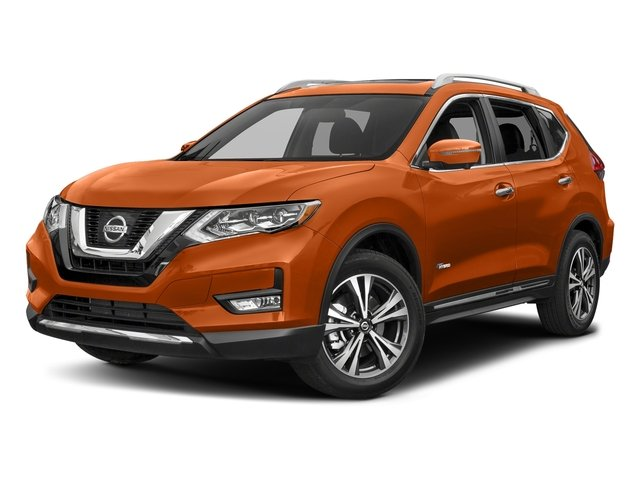 Monarch Orange 2018 Nissan Rogue Pictures Rogue FWD SL Hybrid photos front view
