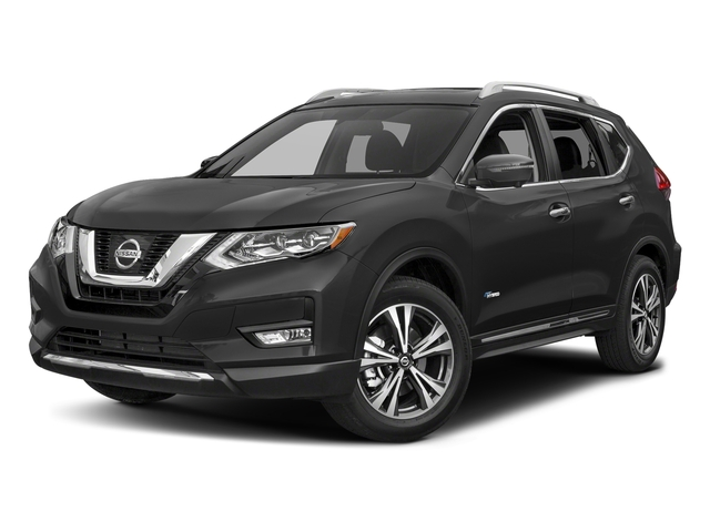 Gun Metallic 2018 Nissan Rogue Pictures Rogue FWD SL Hybrid photos front view