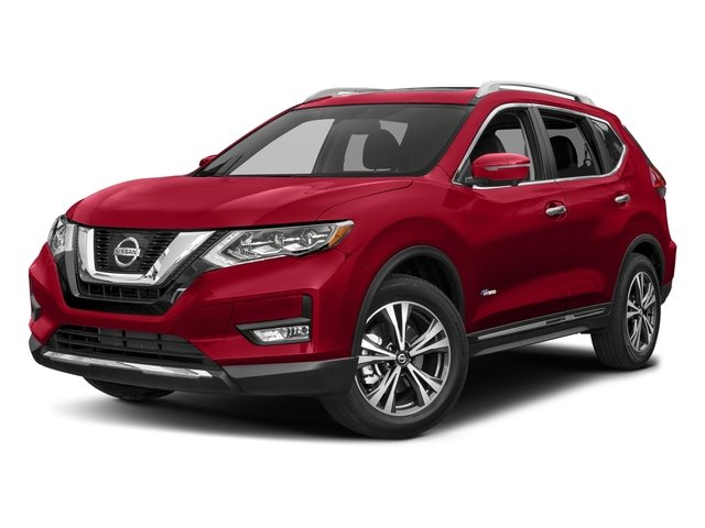 Scarlet Ember 2018 Nissan Rogue Pictures Rogue FWD SL Hybrid photos front view