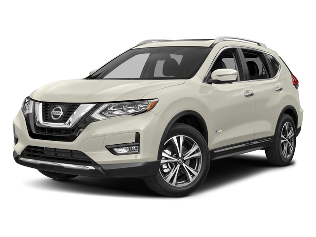 Glacier White 2018 Nissan Rogue Pictures Rogue FWD SV Hybrid photos front view