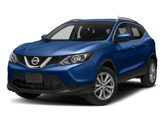 Caspian Blue 2018 Nissan Rogue Sport Pictures Rogue Sport 2018.5 AWD SV photos front view