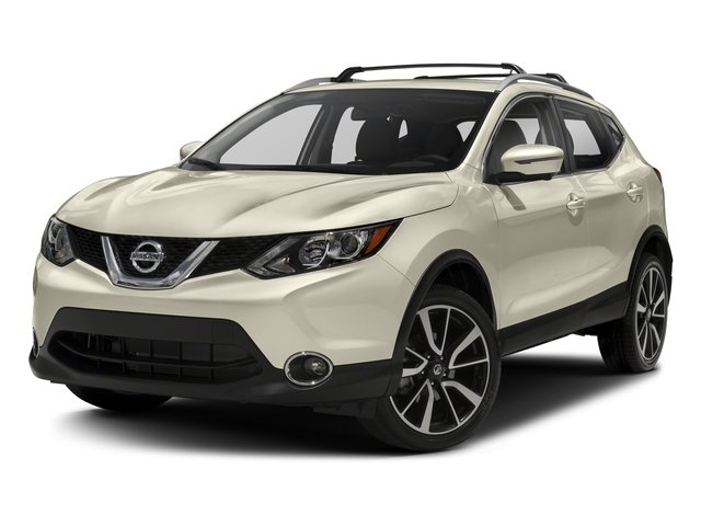 Pearl White 2018 Nissan Rogue Sport Pictures Rogue Sport Utility 4D SL AWD photos front view