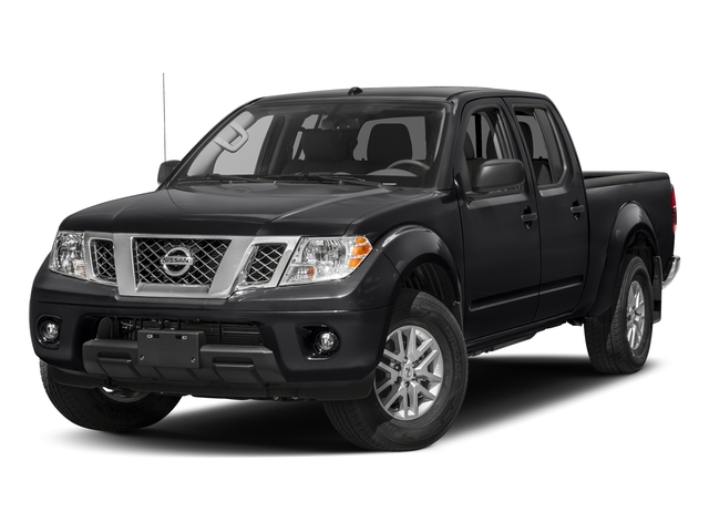 Magnetic Black 2018 Nissan Frontier Pictures Frontier Crew Cab 4x2 SV V6 Auto Long Bed photos front view