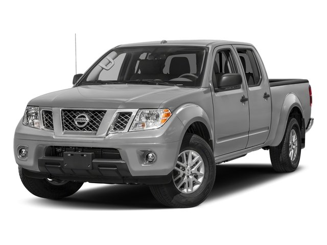 Brilliant Silver 2018 Nissan Frontier Pictures Frontier Crew Cab 4x2 SV V6 Auto Long Bed photos front view