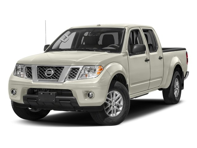 Glacier White 2018 Nissan Frontier Pictures Frontier Crew Cab 4x2 SV V6 Auto Long Bed photos front view