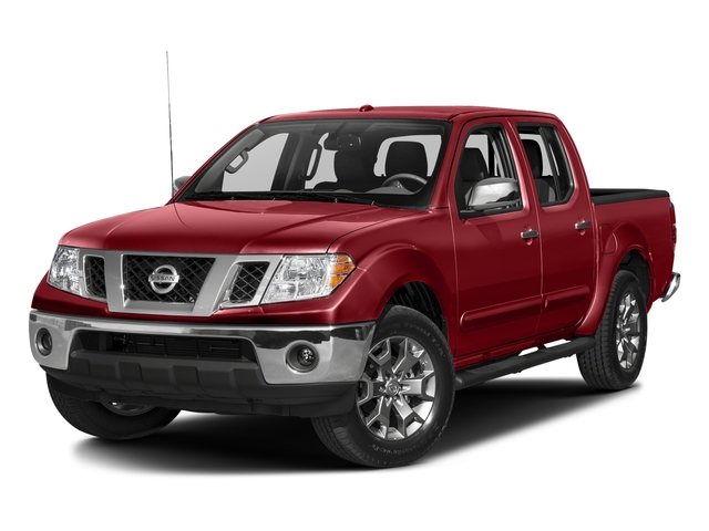 Lava Red 2018 Nissan Frontier Pictures Frontier Crew Cab 4x4 SL Auto photos front view