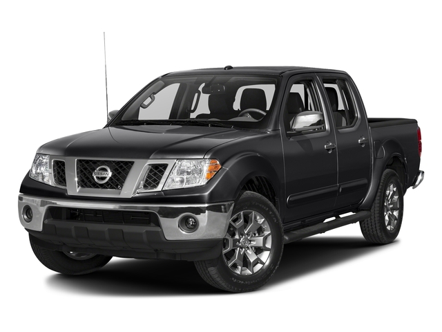 Magnetic Black 2018 Nissan Frontier Pictures Frontier Crew Cab 4x4 SL Auto photos front view