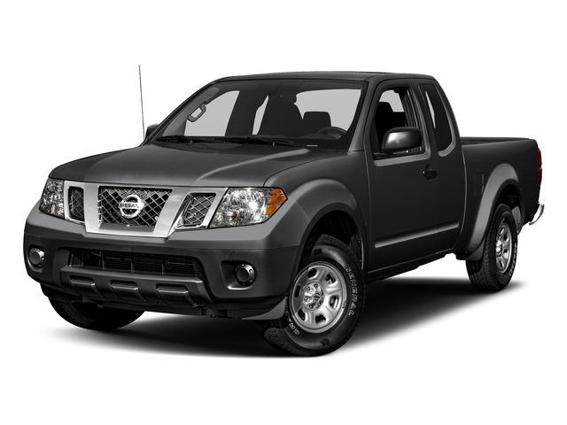 Magnetic Black 2018 Nissan Frontier Pictures Frontier King Cab 4x2 S Auto photos front view