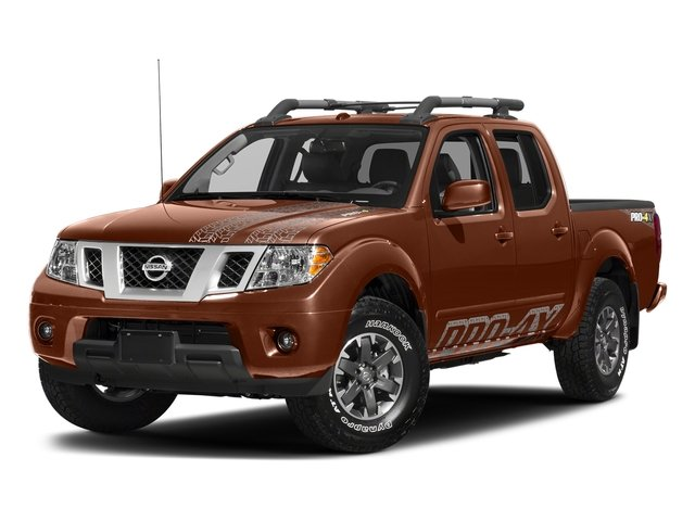 Forged Copper 2018 Nissan Frontier Pictures Frontier Crew Cab 4x4 PRO-4X Manual photos front view
