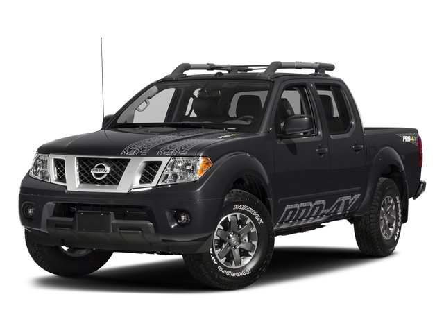 Magnetic Black 2018 Nissan Frontier Pictures Frontier Crew Cab 4x4 PRO-4X Manual photos front view