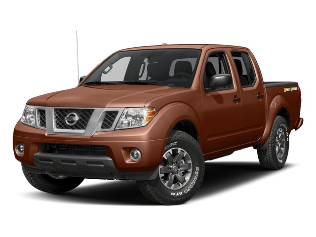 Forged Copper 2018 Nissan Frontier Pictures Frontier Crew Cab Desert Runner 2WD photos front view