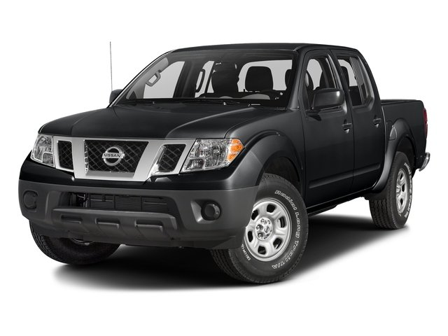 Magnetic Black 2018 Nissan Frontier Pictures Frontier Crew Cab 4x4 S Auto photos front view